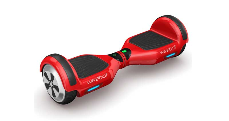 hoverboard rouge pas cher