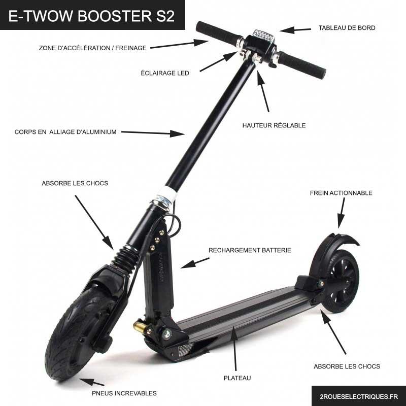 E Twow booster s2 caractéristiques