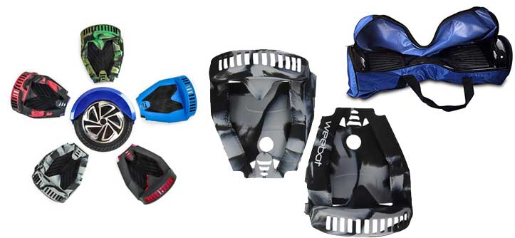 protection et coques pour hoverboard