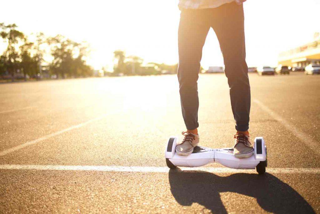 hoverboard trottoir