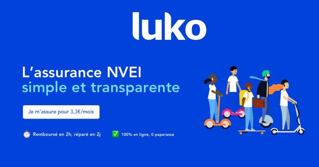 luko assurance trottinette électrique