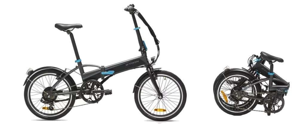 Vélo électrique pliant : Decathlon Tilt 500E