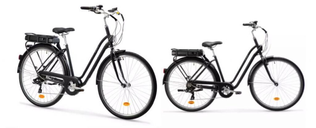 Decathlon Elops 120E : Vélo électrique urbain