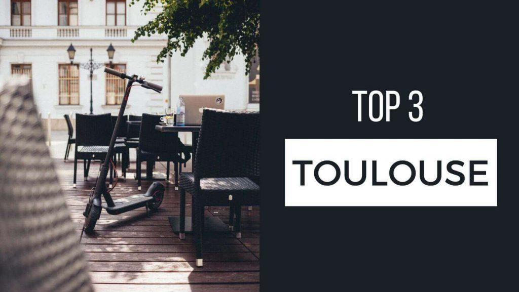 Magasins de trottinettes : top Toulouse