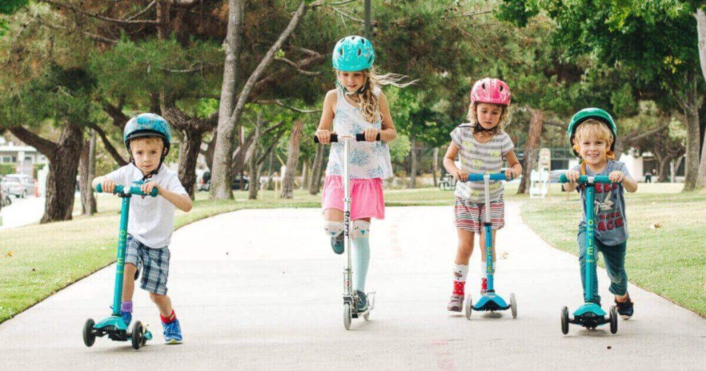 Trottinettes enfants 2 ou 3 roues