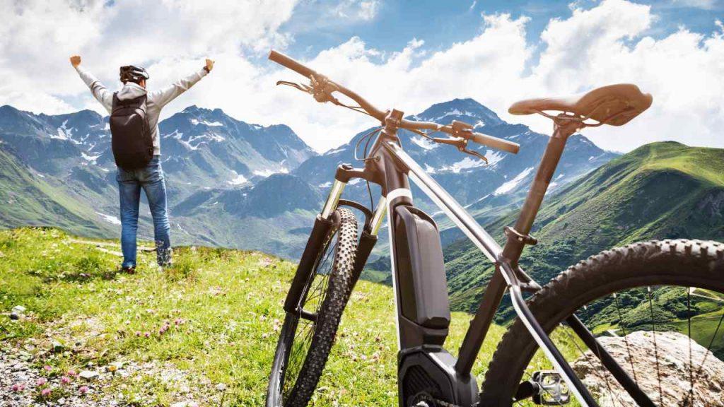Bienfaits vélos électriques santé mentale