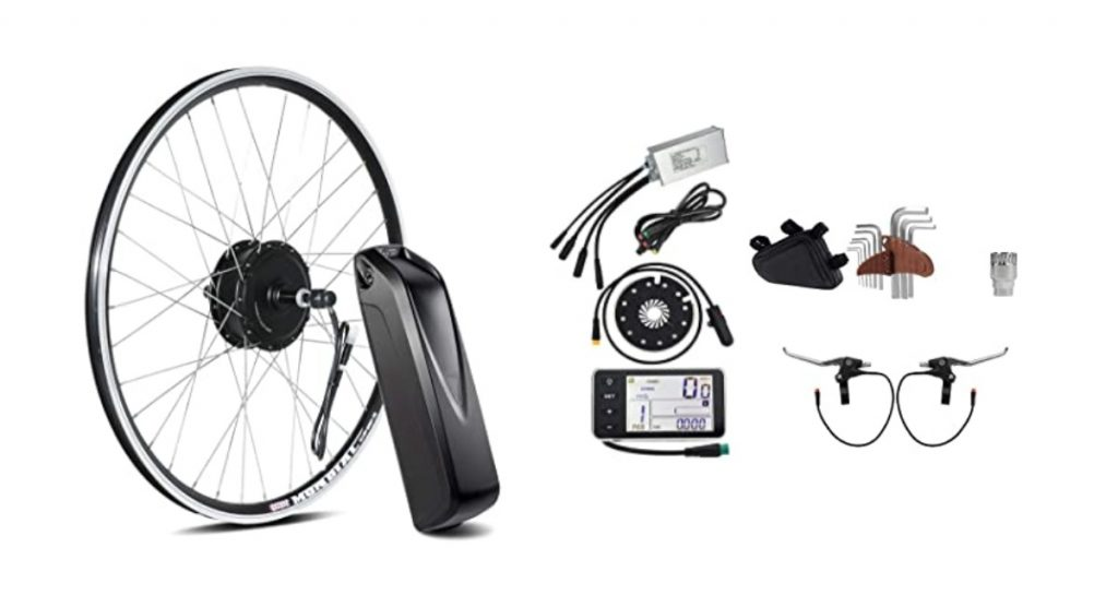Kit vélo électrique moteur roue arrière