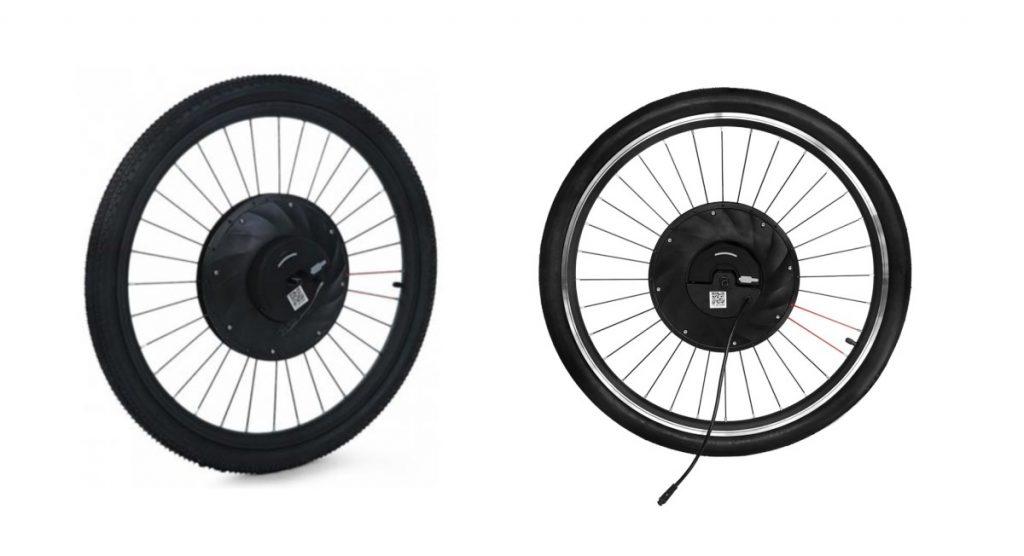 Kit vélo électrique moteur roue avant