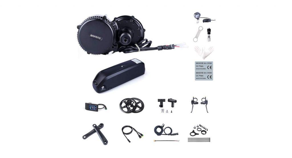 Kit vélo électrique moteur pédalier : Bafang
