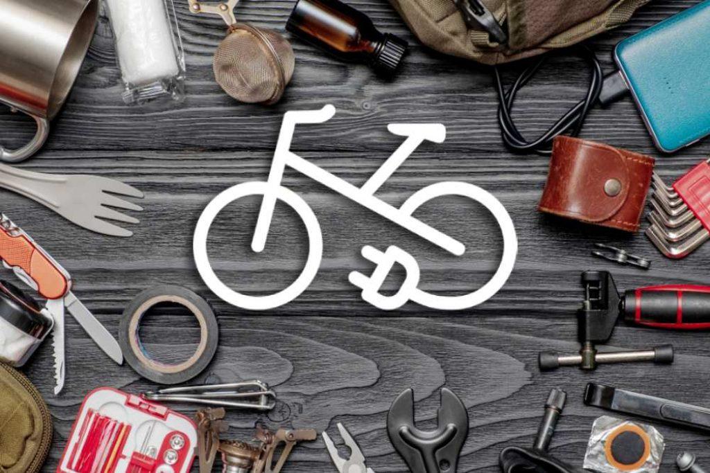 Kit pour vélo électrique : illustration